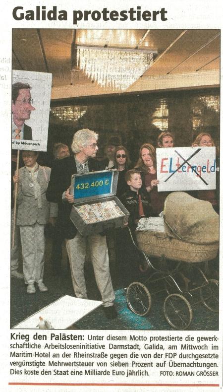 GALIDA-Bericht Darmstädter Echo vom 29.07.2010