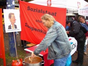 GALIDA: Sozialstaat statt Suppenküche!