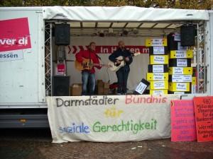 Straßenmusiker sorgten für gute Stimmung