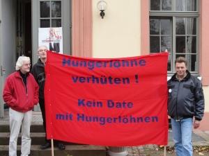 """GALIDA-Aktion """"Ausbeutung verhüten!"""" zum Job-Speed-Dating der ARGE Darmstadt"""