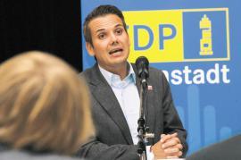 Leif Blum, Vorsitzender FDP Darmstadt