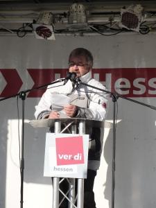 Frank Hillerich, Diakonisches Werk Darmstadt am 04.12.2010, Luisenplatz Darmstadt