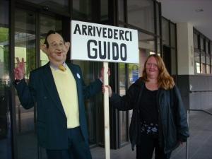 Bye, bye Guido!