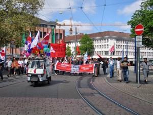 1. Mai 2012 in Darmstadt