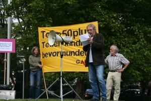 Peter Hetzler von der Erwerbsloseninitiative Andere Wege / Bergstraße